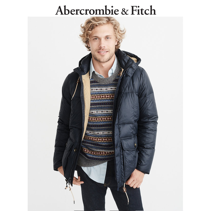 Winter Special Offer Abercrombie & Fitch men's down padded jacket 185304 AF