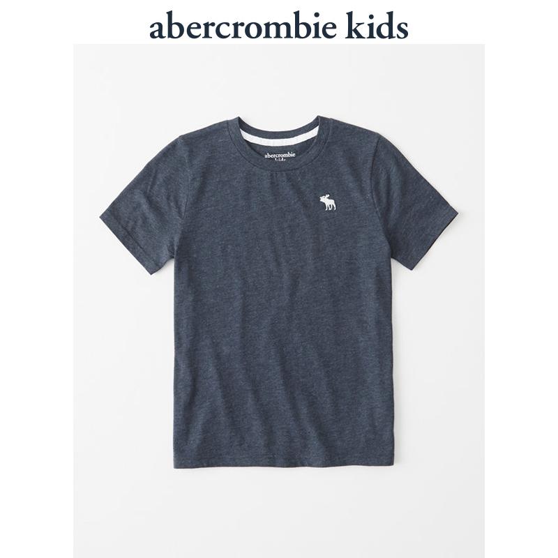 Abercrombie Kids 男童 标识款圆领 T 恤 197170 AF