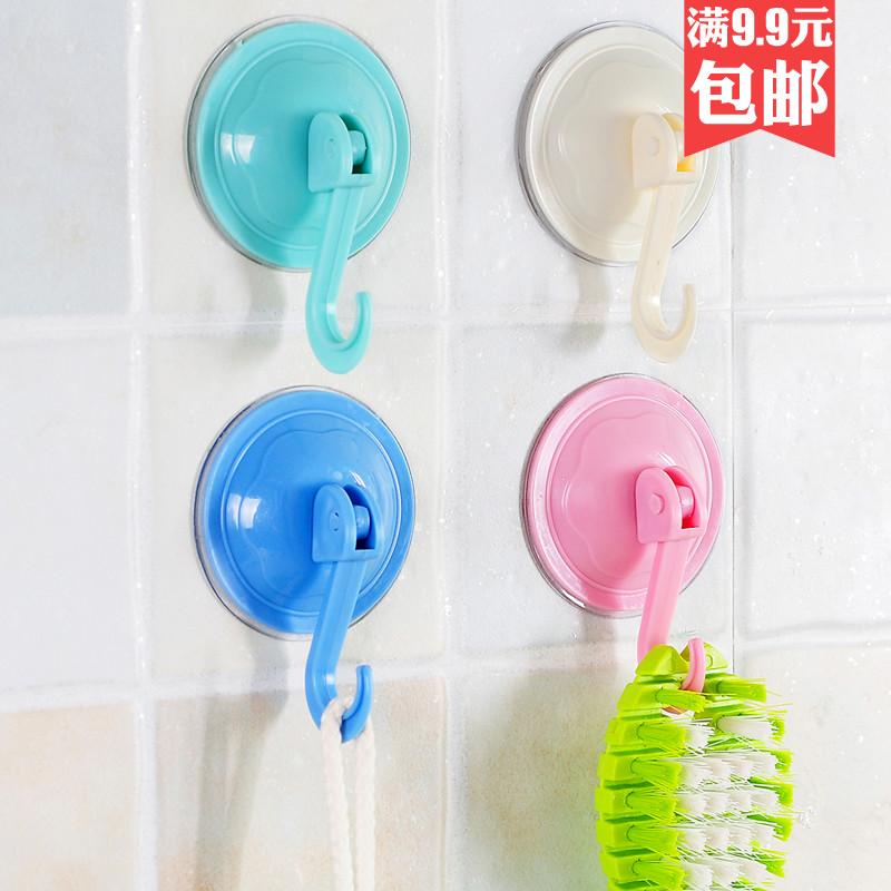 强力吸盘挂钩厨房粘钩无痕墙壁浴室门后壁挂承重免钉毛巾粘胶挂钩