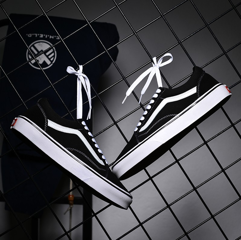 Official spring and summer skateboard shoes mens shoes womens shoes canvas low top Tianxiu Vance qiuruite