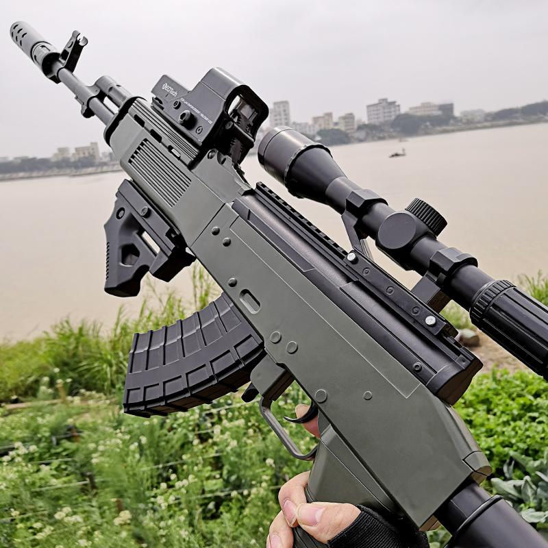 98k儿童玩具枪手自一体M416绝地SKS水弹抢求生电动awm吃鸡狙击枪