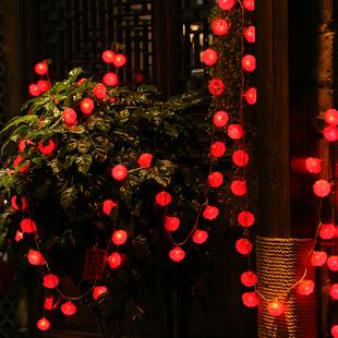 过年装饰挂件灯小彩灯 2019春节新年创意喜庆红灯笼中国结挂饰图片