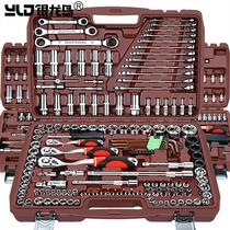 套筒套管棘轮扳手万能修车汽修汽车维修修理工具箱组合套装多功能