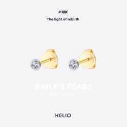 helio赫粒贝利珠原创设计新品耳钉
