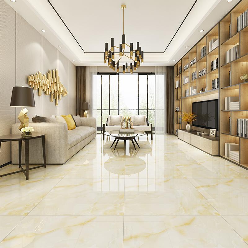 客厅大理石瓷砖800x800 卫生间木纹砖厨房阳台厕所浴室白色地砖