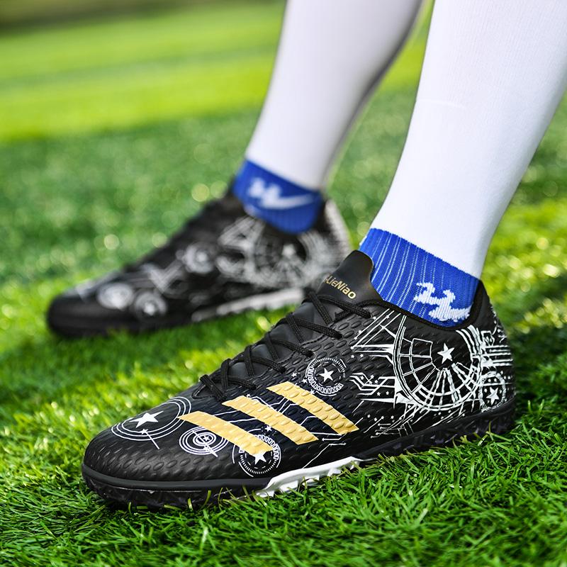 2021新款碎钉TF低帮足球鞋学生成人男女防滑耐磨缓震运动训练跑鞋