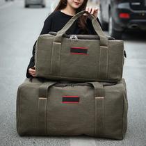 牛津布新款防水手提旅行包大容量行李包女男短途旅行袋旅游包健身