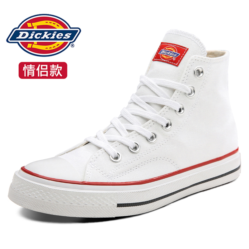 Dickies new gaobang spring and summer 2020 small White Retro Hong Kong Style versatile ins Korean fashion canvas shoes children