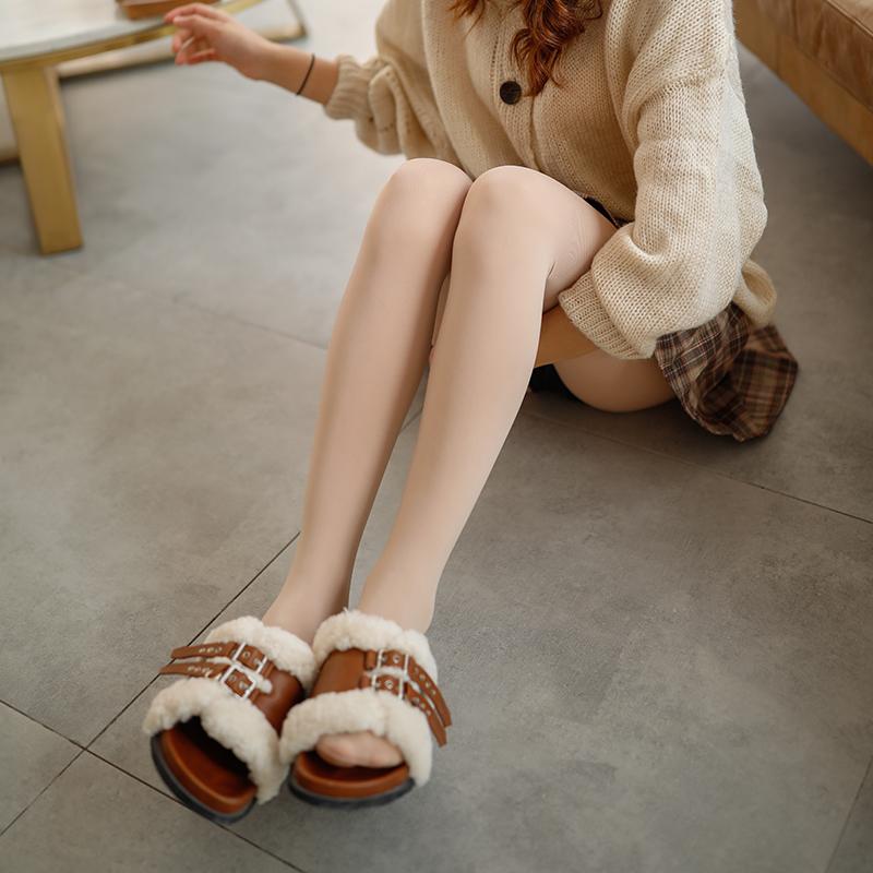 2条樱致春季丝袜女春秋款薄款防勾丝性感秋冬款连裤袜肤色打底袜
