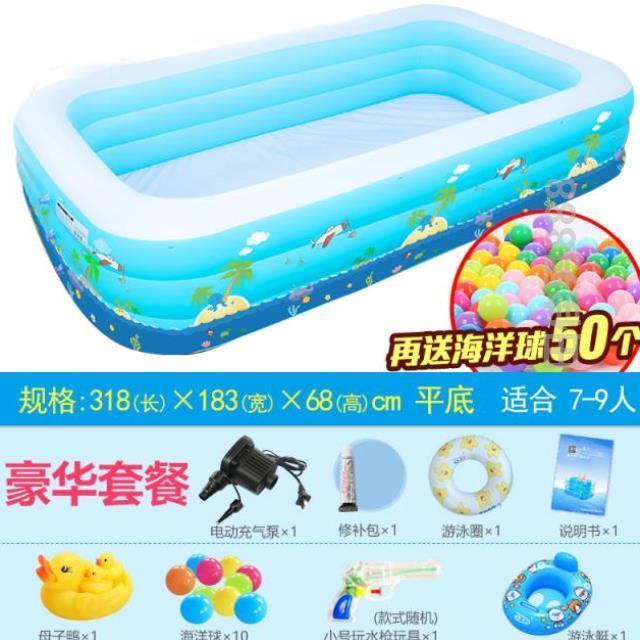 保温赤ちゃんの大きいサイズの子供用プールの空気を入れる滑り台のプールの室内はとても大きくて折り畳みます。