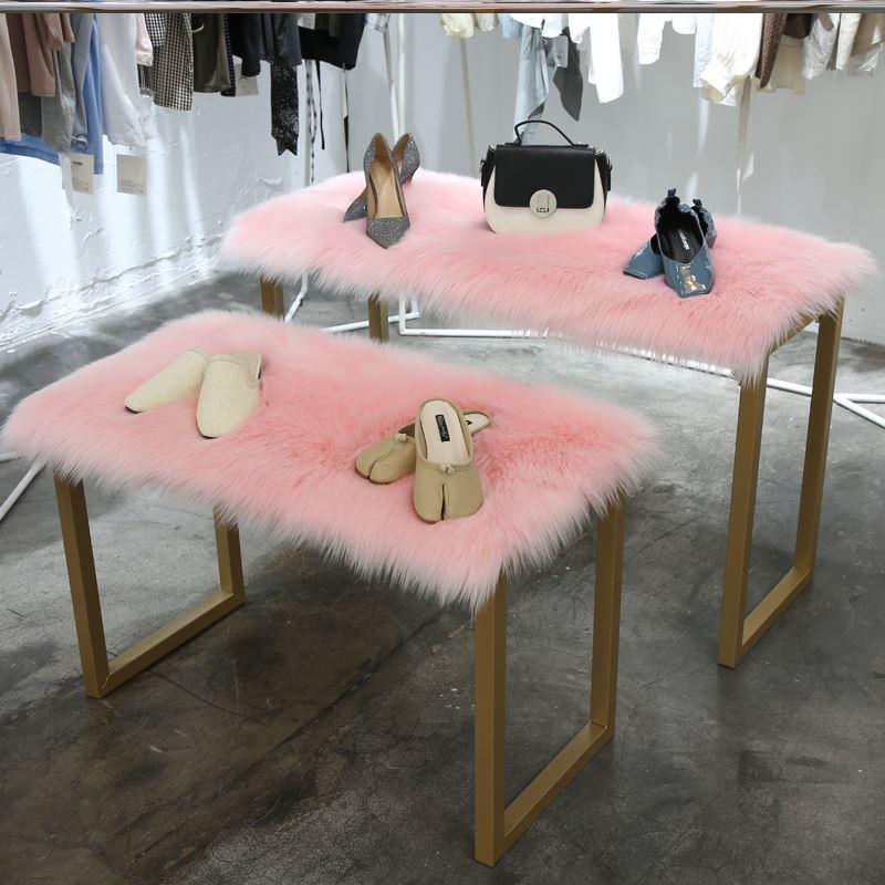 地毯摄影棚垫子道具长方形毛绒满铺绒毛客厅装饰毯挂毯仿羊毛拍照
