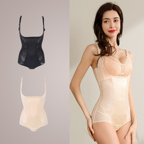 Ting Mei Xia new postpartum plastic body jumpsuit Light lift hip belly collection fat waist tight beauty body dress girl