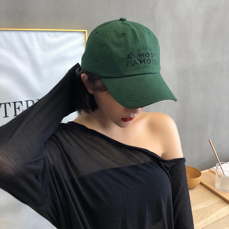 24.00元包邮墨绿色帽子升级版软顶棒球帽男女四季基础款潮生日礼物原谅鸭舌帽
