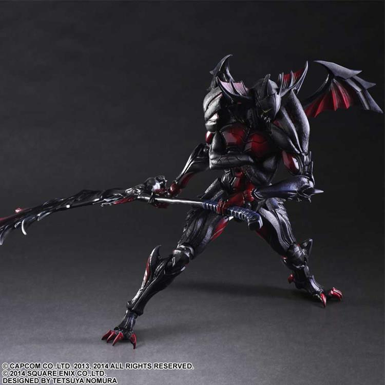 Joint monster gift playarts change Hunter 4 to destroy gods armor, can make model by hand and put doll 0
