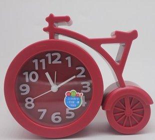 自行车型卡通简约韩版立体数字闹钟