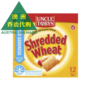 澳洲 Uncle Tobys Shredded Wheat 碎小麦全麦饼干 UT071