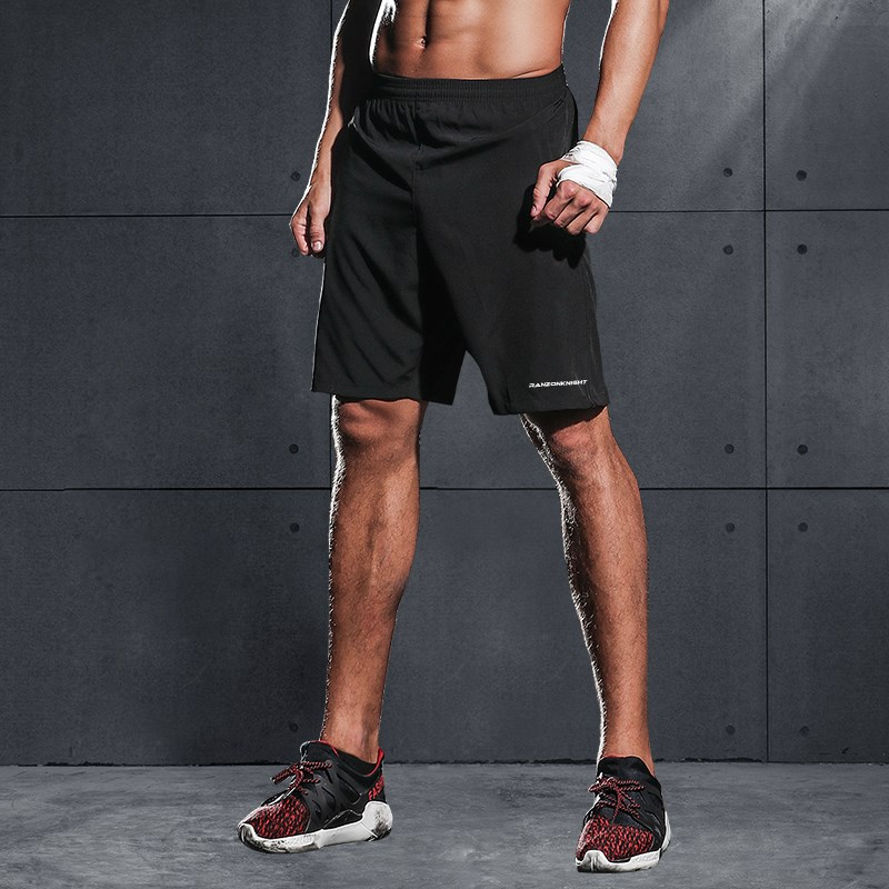 Pant summer fitness running suit sports basketball mens football quick dry fashionable casual 3 / 3 loose 5 / 5 shorts