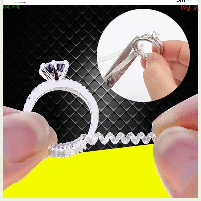 金银封口调节器松紧绳扣环胶套固定器接口戒指戒指尺寸个性套环