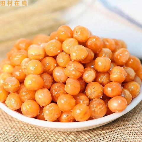 黄金豆新油炸豌豆牛肉味休闲零食1斤装5斤装豆类小吃炒货坚果包邮