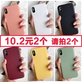 苹果6splus手机壳iPhonex液态硅胶套iphonexr情侣6/6s/7/8/plus网红抖音iPhone xs max潮牌xr同款6p女款ins图片