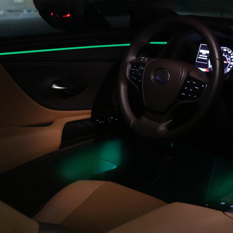 19款雷克萨斯新ES200/300h专用车内氛围灯原厂开模32色改装气氛灯,可领取5元天猫优惠券