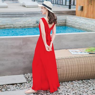 红色长裙 夏牌子口碑评测