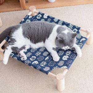 猫窝四季可拆洗猫床秋冬季耐抓吊床