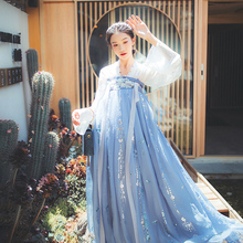 Han Shanghua Lotus Star Xuanhan Dress Women's High-waist Printed Chest-length Skirt Nail Flower Chinese Style Daily Baitie Summer Dress