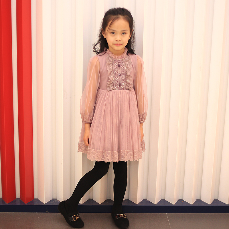 Girls dress spring and autumn Korean style fashion