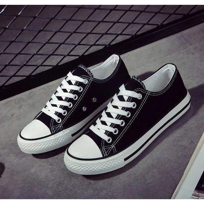 经典布鞋运动板鞋情侣款低帮鞋子夏秋季帆布鞋男女韩版休闲鞋