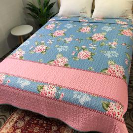 微瑕疵夹棉床盖绗缝被夏季空调被沙发毯秋冬加厚炕罩褥子床单单件