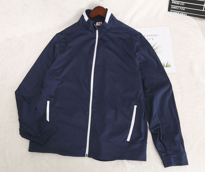 Oversized fat man small size sports top big size jacket jacket jacket extra fat and fat man zipper loose Z