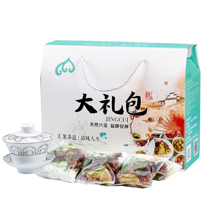 八宝茶 宁夏特色八宝茶4000g/盒(内含20小袋枸杞、红枣八宝茶
