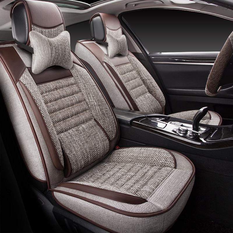东风风行景逸X5/SUV/X3/S50/XV麻布汽车座套全包专用坐垫四季通用