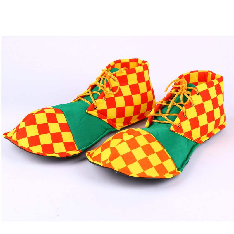Cosplay costume accessories clown shoes sponge clown shoes