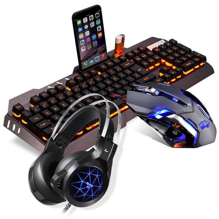 直亏三天质保一年七彩真正机械键盘发光游戏青轴黑轴电竞104键