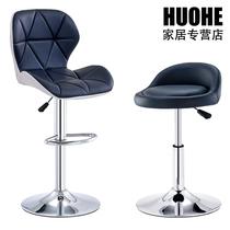 吧台椅时尚创意酒吧椅家用靠背高脚椅子升降吧凳美容美甲凳高脚凳