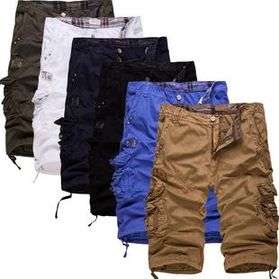 ��װ�̿���Mens Cargo Shorts Cotton Loose Casual Shorts Pants
