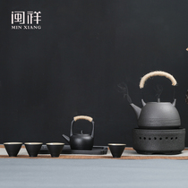 Ceramic tea set household tea maker tea maker boiling water teapot pottery pot tea pot electric furnace Cha Electric