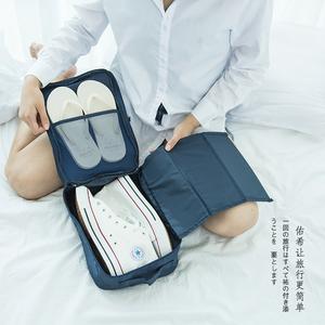 户外旅行收纳鞋盒便携鞋子防尘袋足球鞋收纳包运动手提鞋子收纳袋