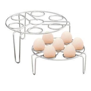 加厚不锈钢蒸蛋架子托煮蛋器置物架