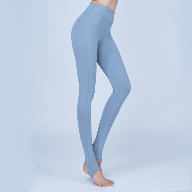 芙莱尔专业瑜伽裤女夏季速干薄款显瘦健身裤跑步运动踩脚裤 FLYOGA