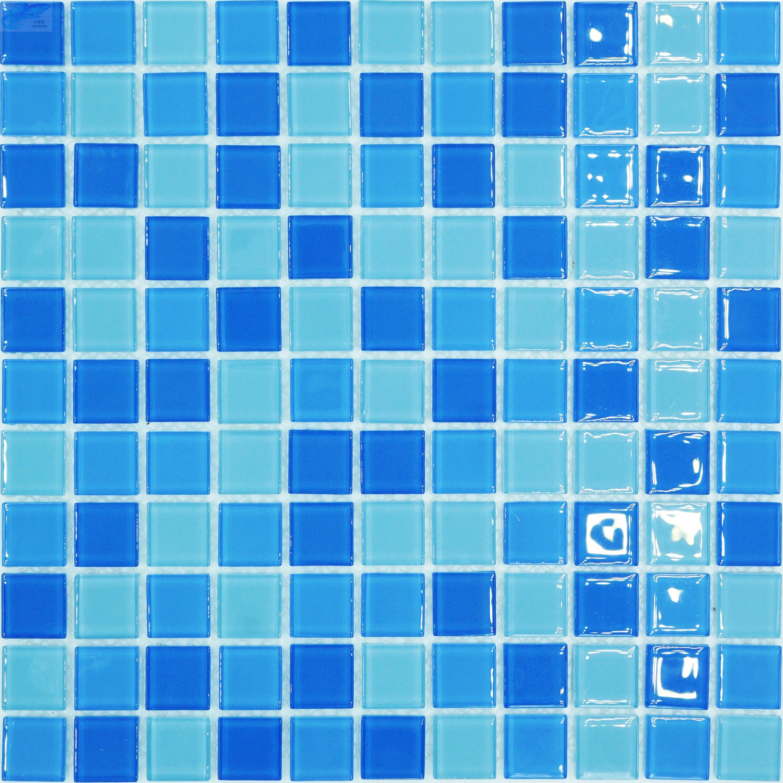限20000张券游泳池马赛克瓷砖洗手间卫生间水池鱼池浴池泳池背景玻璃陶瓷墙贴