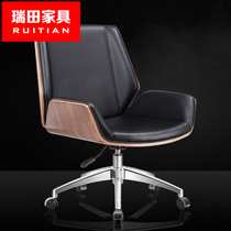 Computer Chair Home lounge chair Qu Wood negotiation Chair Manager Chair meeting Chair office chair Joy Ode Chair