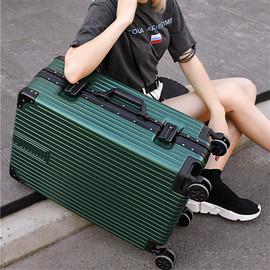 网红箱子行李箱女拉杆万向轮24登机密码箱男韩版旅行箱20大容量28