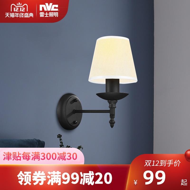 雷士照明led壁灯 卧室床头灯客厅走廊过道灯墙壁灯现代简约楼梯灯