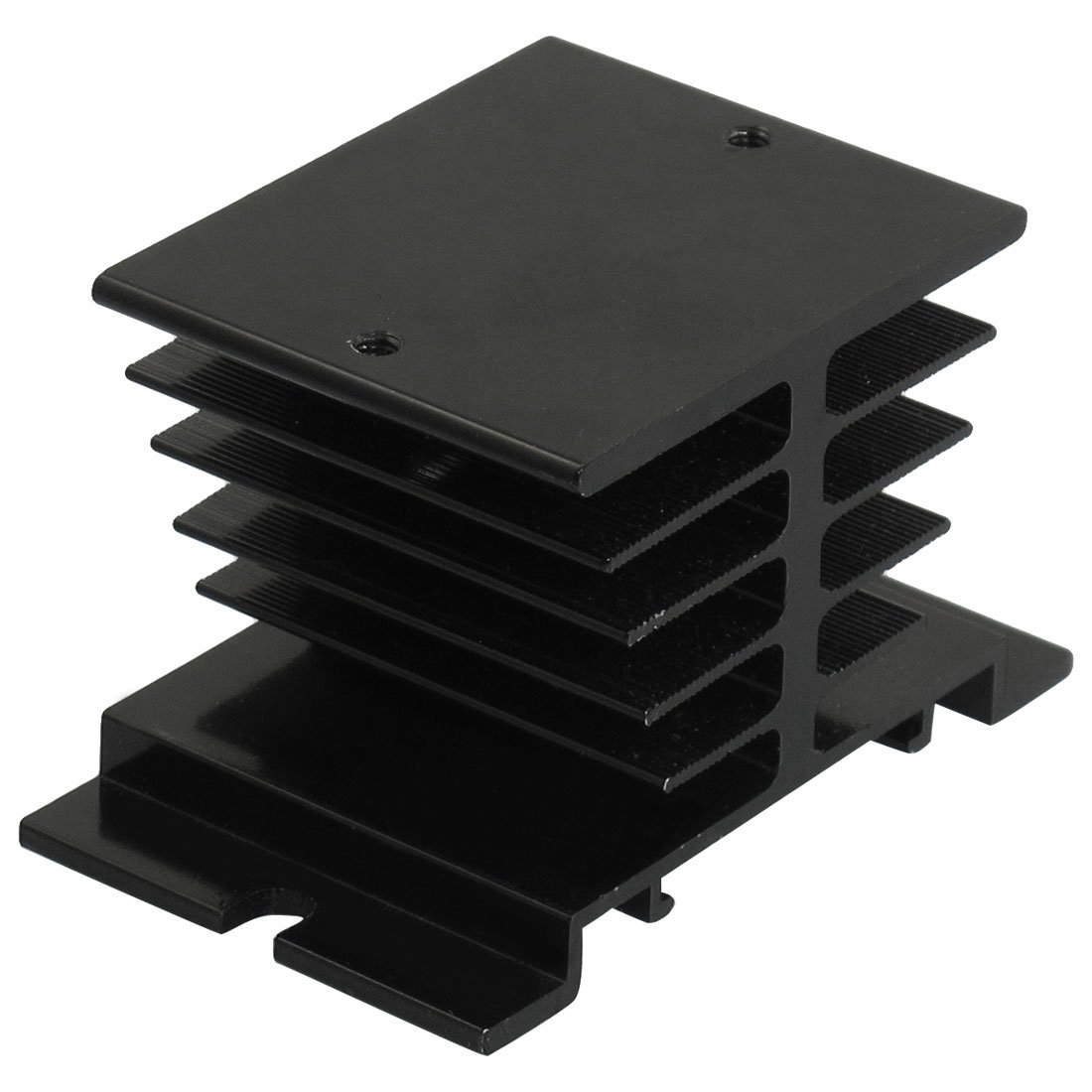 Aluminum Heat Sink 80mm x 50mm x 50mm for Solid State Relay,可领取元淘宝优惠券