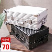 行李箱ins网红拉杆箱大学生高中万向轮24寸20潮男女密码旅行皮箱