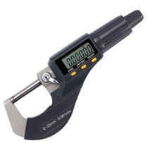 High precision electron digital outer diameter micrometer caliper 0-25-50mm0.001 spiral micrometer thickness gauge
