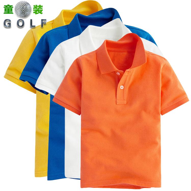 18 новый высокий твой муж одежда ребенок короткий рукав T футболки мальчиков и девочек, polo рубашка ребенок гольф T футболки хлопок короткий рукав